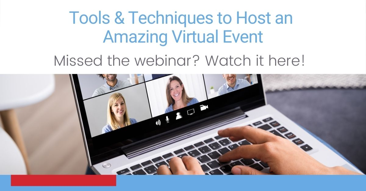 Webinar: Virtual Events